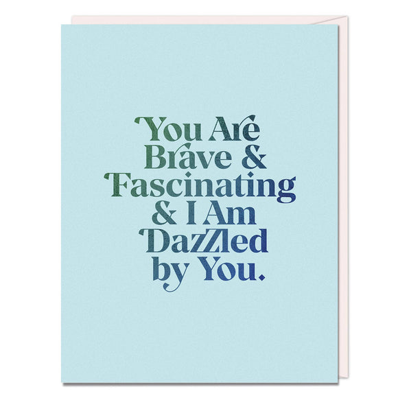 Emily McDowell & Friends - Elizabeth Gilbert Brave & Fascinating Card