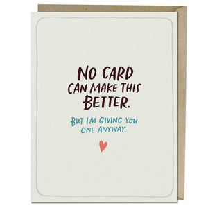 Emily McDowell & Friends - Make This Better Empathy Card
