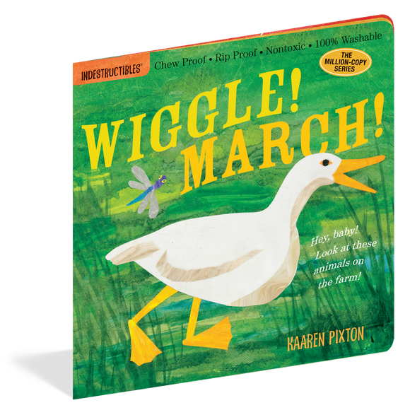 Indestructibles - Wiggle! March! Book