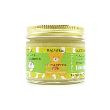 BALM! Baby - Clearing Rub (Eucalyptus) - A Natural Rub for Chest and Tummy (for Congestion & Nausea)