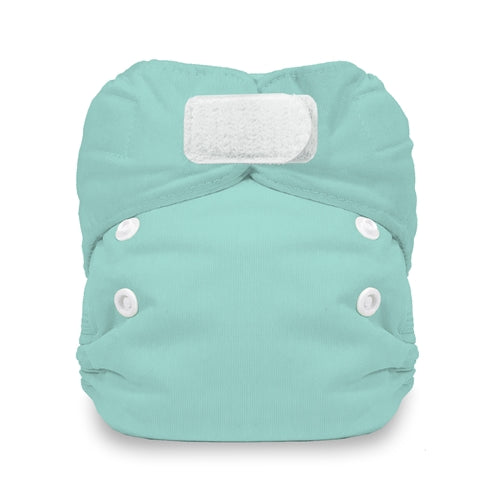 Thirsties - Natural Newborn All in One - Aqua