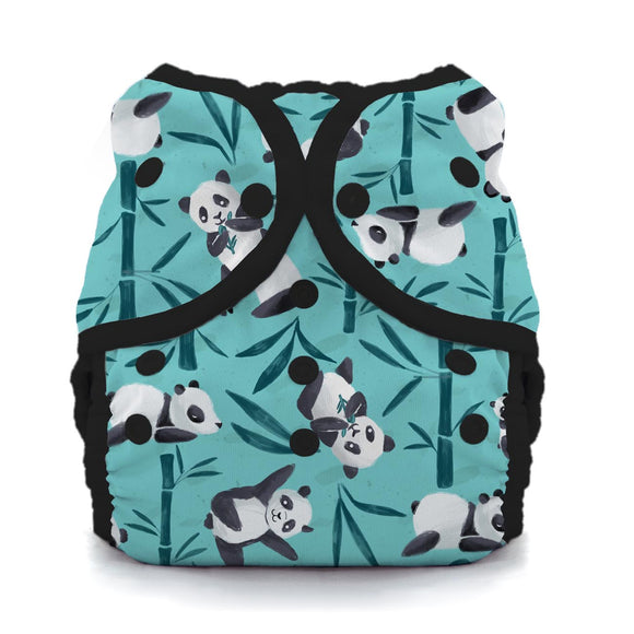 Thirsties Size 2 Duo Wrap, Snap Closure - Pandamonium
