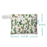 Thirsties - Mini Wetbag - Cactus Garden