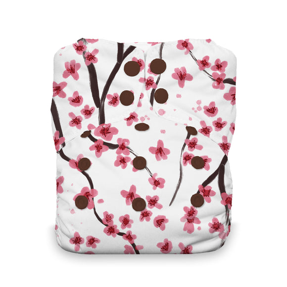 Thirsties - Natural One Size All in One - Sakura