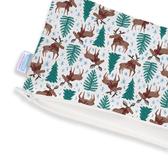 Thirsties - Clutch Bag - Merry Moose-mas