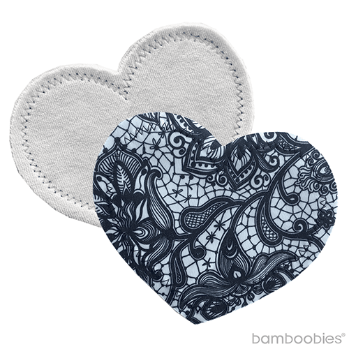 Bamboobies - regular nursing pads: | flirty lace - 6 pairs