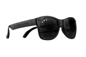 Roshambo Baby - Bueller Black Sunglasses - Polarized
