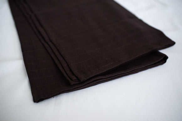 The Swaddle Company - Burnt Umber - Organic Swaddle - Essentials Collection