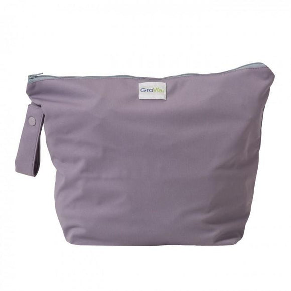 GroVia Zippered Wetbag - Haze