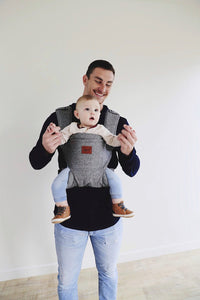 Happy Baby  - Revolution Baby Carrier | Charcoal