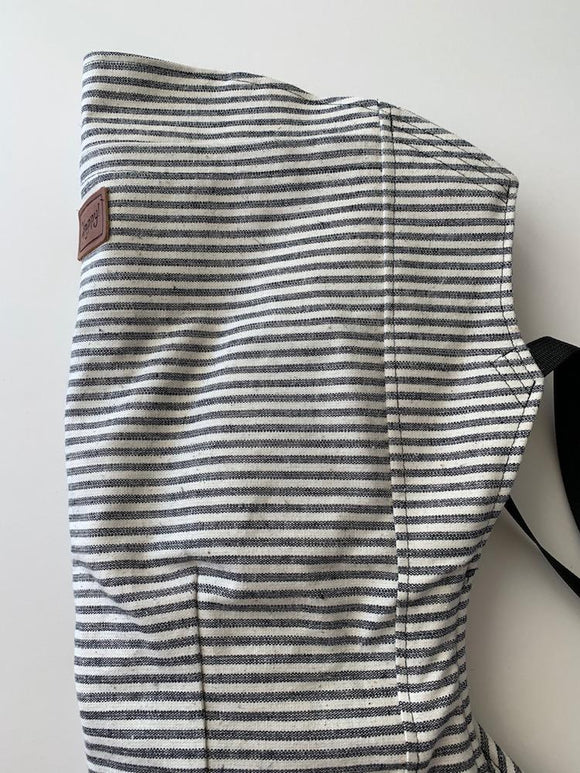 Happy Baby  - Original Baby Carrier | Charcoal Stripe