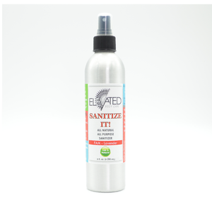 ELEVATED - Sanitize It! All Purpose Sanitizer - 9 oz Family Size