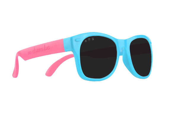 Roshambo Baby - Fresh Princess Pink & Blue Baby Sunglasses - Polarized