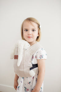 Happy Baby - Doll Carrier | Flax