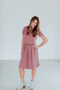 Honeysuckle - Madison Dress in Maeuve