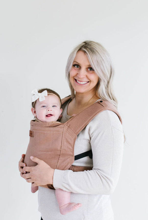 Happy Baby  - Toddler Carrier | Raw Umber