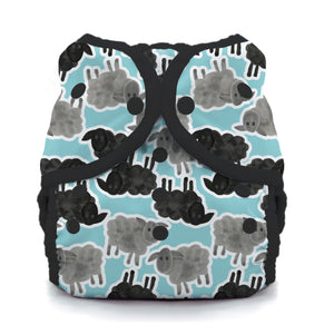 Thirsties - Size 1 Duo Wrap, Snap Closure - Counting Sheep