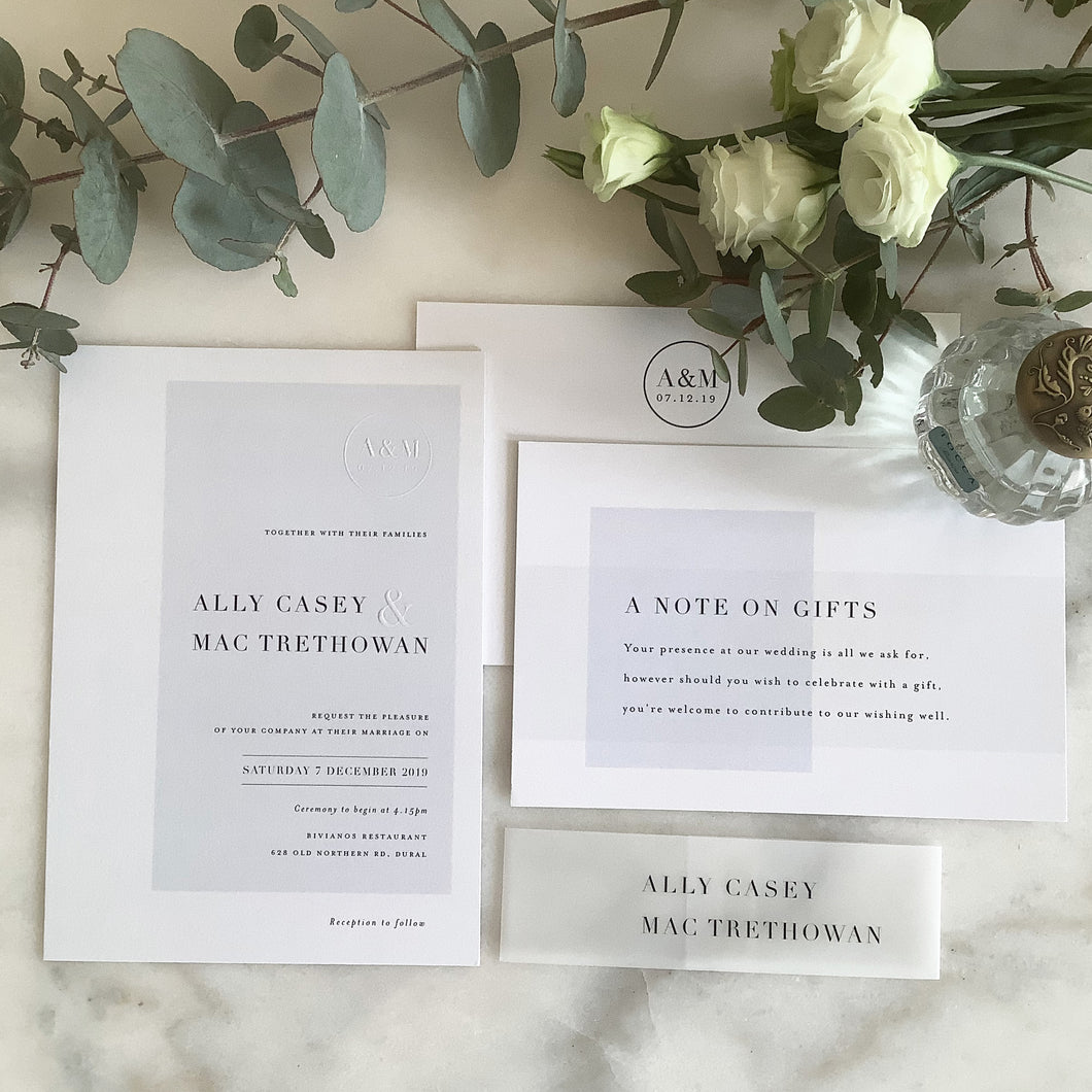 Ally + Mac Wedding