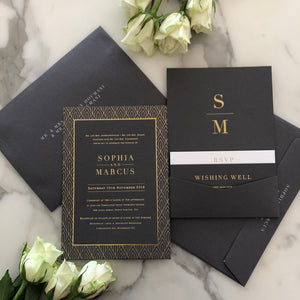 Sophia + Marcus Wedding