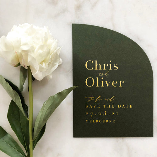 Chris + Oliver Save The Date