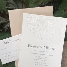 Elouise & Michael Wedding Invitations