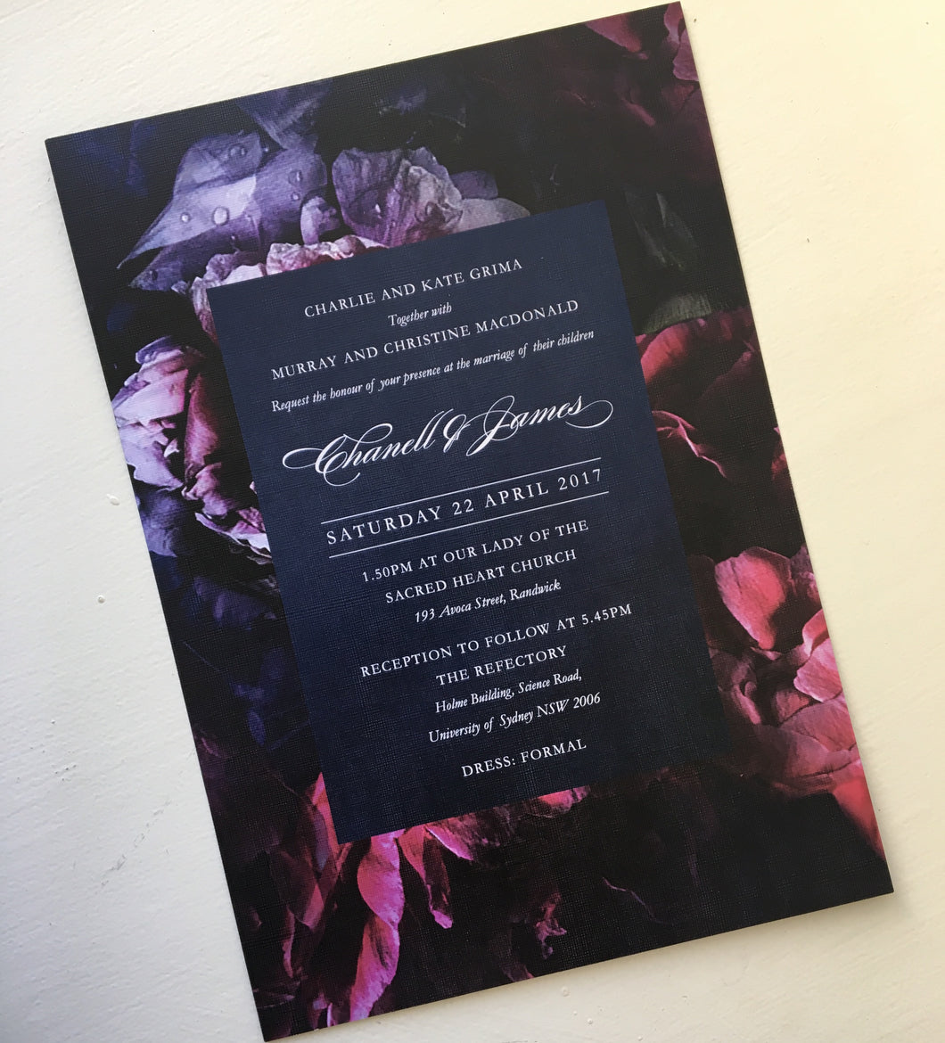Chanell's Wedding Invitaitons
