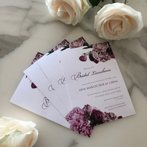Dania's Bridal Shower Invitations