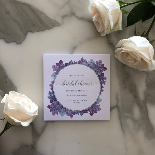 Irini's Bridal Shower Invitations