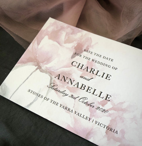 Charlie + Annabelle Save the Date