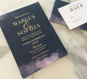 Sophia's Engagement Invitations