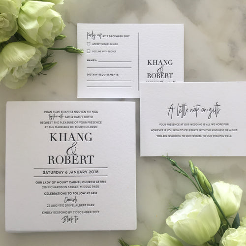 Khang's Wedding Invitations