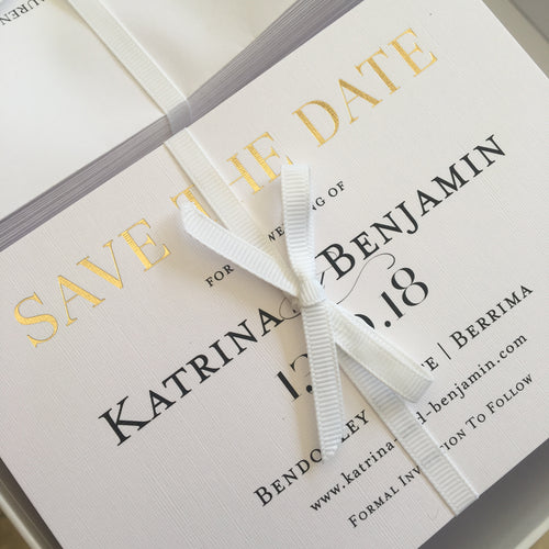 Katrina's Save the Date