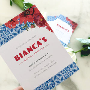 Bianca's Bridal Shower Invitations