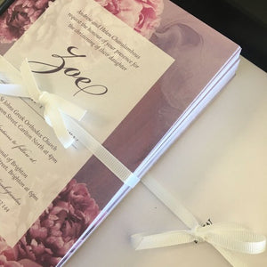 Zoe's Christening Invitations