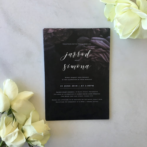 Simona's Wedding Invitations