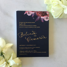 Belinda's Wedding Invitaitons