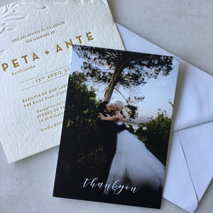 Peta's Thank You Card