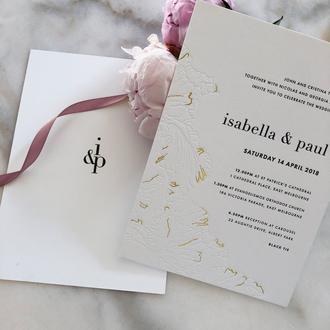 Isabella + Paul Wedding