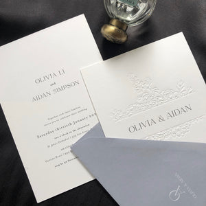 Olivia + Aidan Wedding