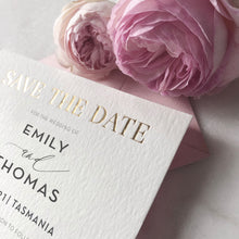 Emily + Thomas Save the Date
