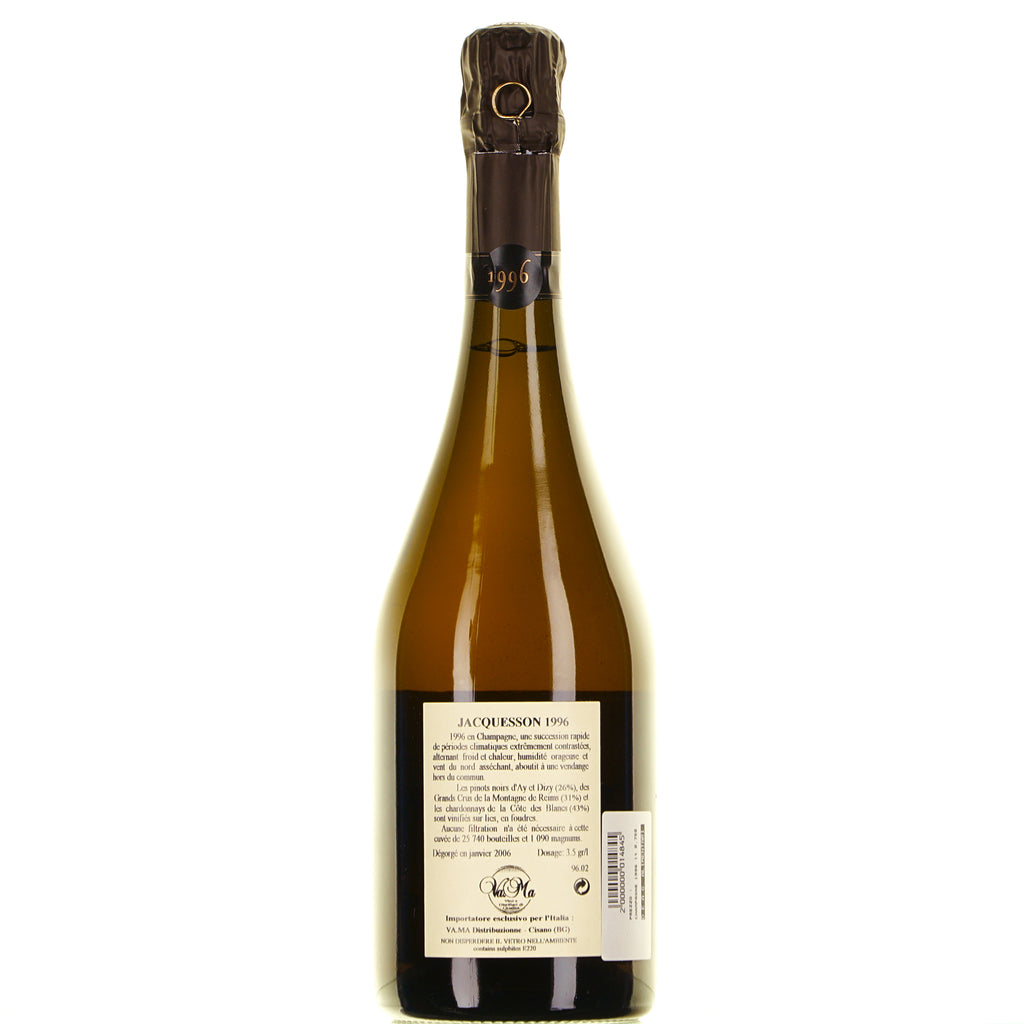 CHAMPAGNE 1996 EXTRA BRUT lt.0.750