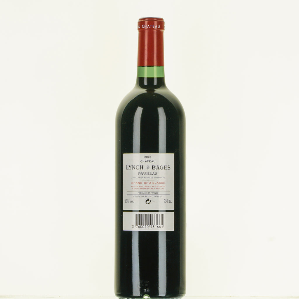 CHATEAU LYNCH-BAGES PAUILLAC 2005 lt.0,750