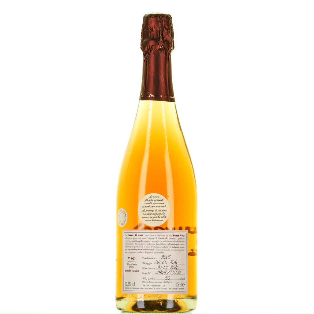 CUVEE 60 NATURE ROSE' BRUT lt.0,750