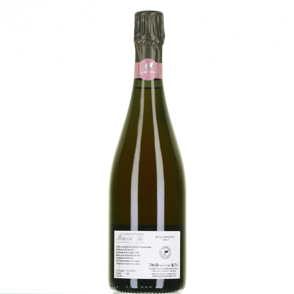 CHAMPAGNE ROSE EFFUSION EXTRA BRUT 0,750