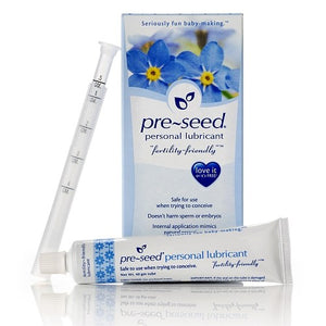 1 Pre-Seed + 5 tests d'ovulation + 5 tests de grossesse (Bandelettes)