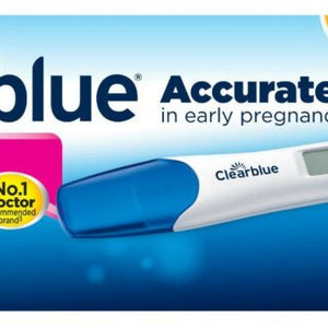 2 tests de grossesse Clearblue détection rapide