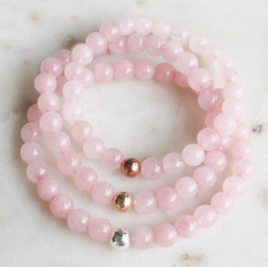 Rose Quartz - Evie Atelier