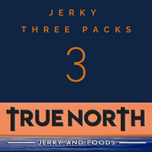 Load image into Gallery viewer, Jerky Three Packs make excellent gifts