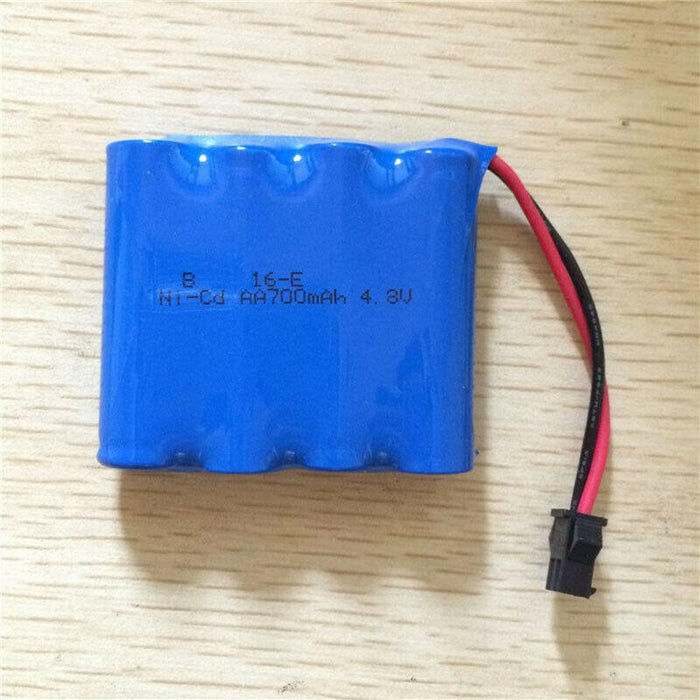 6V 400mAh Rechargeable Ni-Cd Battery for Amphibious RC Car-ZHENDUO