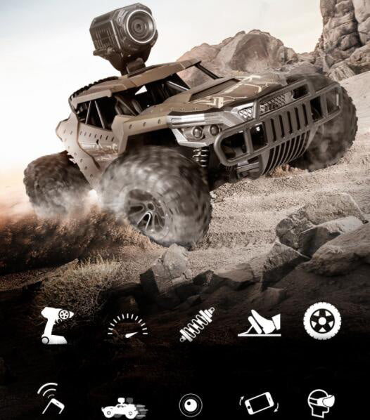 Deerman DM-1803 RC Off-Road Vehicle with 720P HD WiFi Camera-ZHENDUO